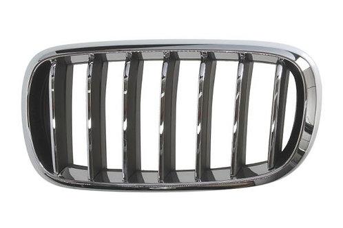 Bmw X5 2012- Mpv Front Grille Left Hand Chrome/black