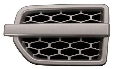 Land Rover Discovery Iv 2009-2016 Mpv Front Wing Grille Silver Left Hand