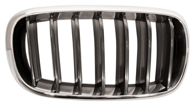 Bmw X5 2012- Mpv Front Grille Chrome/black Right Hand