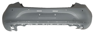 Opel Astra J 2009- HatchbackRear Bumper Primed With Pdc