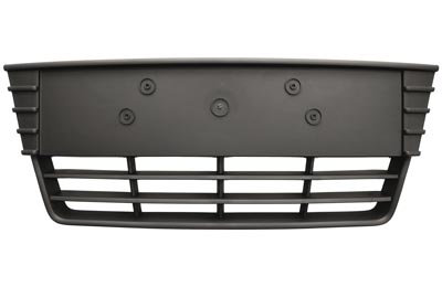 Ford Focus Iii 2012-2018 Hatchback Front Bumper Grille Center Dark Grey