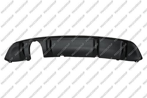 Citroen Ds3 2009-2015 Hatchback Rear Bumper Spoiler Black Textured W/pdc