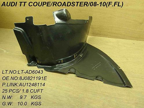 Audi Tt 2006-2014 Coupe Front Splashguard Front Part Left Hand