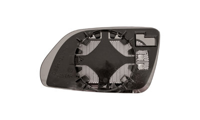 Vw Polo 2001-2009 HatchbackDoor Mirror Glass Heated Aspherical Right Hand