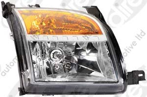 Ford Fusion 2002-2012 HatchbackHeadlight Right Hand With Motor