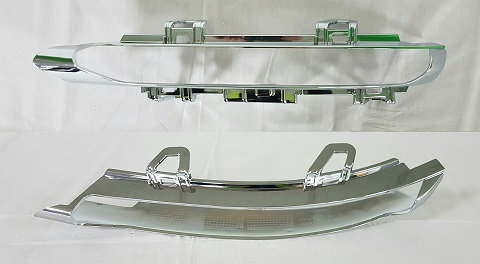 Mercedes-benz Cls 2011-2017 Coupe Front Drl Chrome Moulding Right Hand