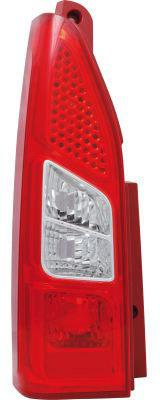 Peugeot Partner Tepee 2008- Mpv Rear Light Single Door Right Hand