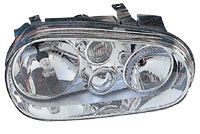 Vw Golf Mk 4 1998-2002 CabrioletHeadlight Without Spotlight Electric Left Hand