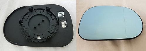 Mercedes-benz M-class 1998-2005 MpvDoor Mirror Glass Heated Blue Right Hand