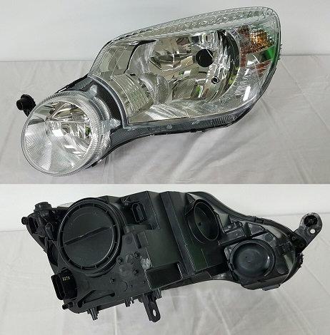 Skoda Yeti 2009- Mpv Headlight Left Hand Without Fog