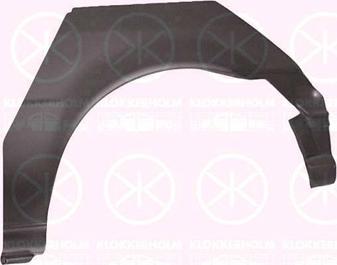 Ford Fiesta Mk Iii 1989-1996 Hatchback Rear Wheel Arch Right Hand 3dr