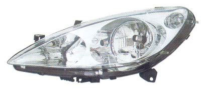 Peugeot 307 2000- HatchbackHeadlight Without Spotlight Right Hand