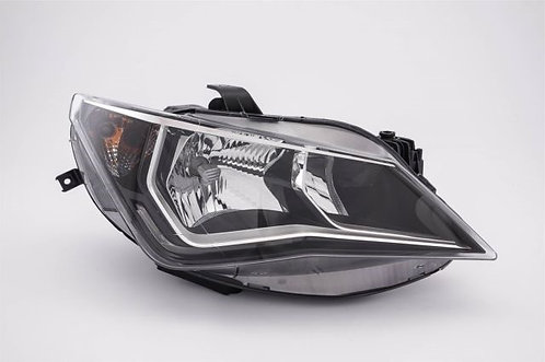 Seat Ibiza V 2008-2017 Hatchback Headlight Twin With Led Drl Right Hand