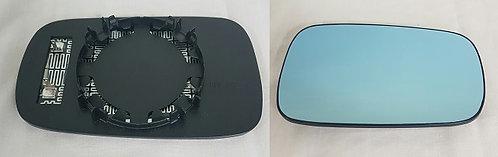 Renault Laguna Ii 2001-2007 HatchbackDoor Mirror Glass Blue Heated Right Hand