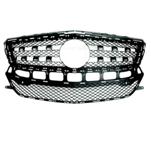 Mercedes-benz Cls 2011-2017 Coupe Front Grille Primed With Pdc Holes