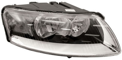 Audi A6 2004-2011 SaloonHeadlight Electric Right Hand