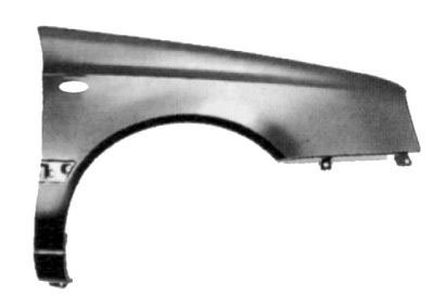 Vw Golf Mk 3 1991-1998 Hatchback Front Wing With Oval Hole Right Hand