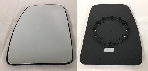 Renault Master Ii 1998-2010 VanDoor Mirror Glass Convex Left Hand