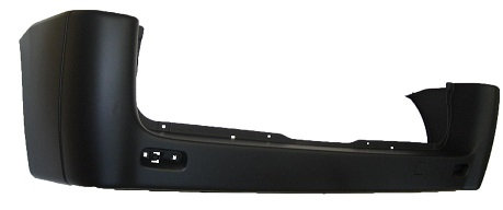 Citroen Dispatch 2007-2016 MpvRear Bumper Black Short Wheel Base Only