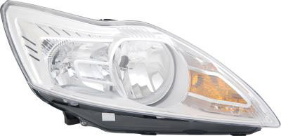 Ford Focus Ii 2004-2012 EstateHeadlight Chrome Right Hand Inc Motor