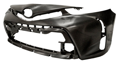 Toyota Prius 2015- HatchbackFront Bumper Smooth Black