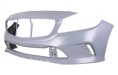 Mercedes-benz A-class 2012-2018 HatchbackFront Bumper Primed With Moulding
