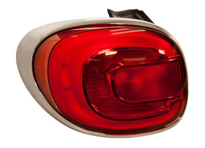 Fiat 500l 2012- Hatchback Rear Light With Led Left Hand