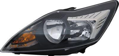 Ford Focus Ii 2004-2012 EstateHeadlight Black/chrome Left Hand Inc Motor