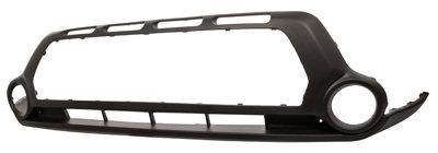 Kia Soul Ii 2014- HatchbackFront Bumper Lower Dark Grey Textured