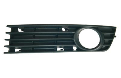 Audi A4 2000-2004 Saloon Front Bumper Grille With Spotlight Holes Left Hand