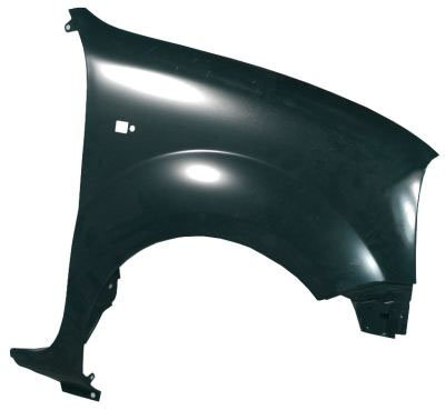 Renault Kangoo 1997-2008 Mpv Front Wing With Hole Right Hand