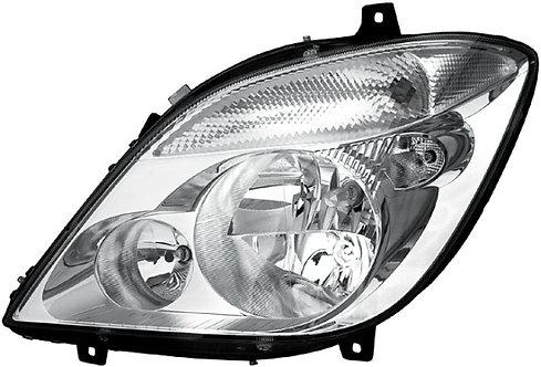 Mercedes-benz Sprinter 2006-2018 Headlight Without Spotlight Left Hand Oem/oes