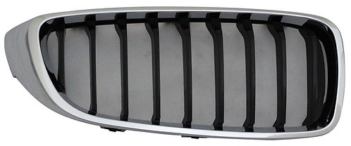 Bmw 4 Series F32 2013- Coupe Front Grille Chrome/black Right Hand