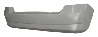 Skoda Fabia Iii 2014- HatchbackRear Bumper With Cutting Mark For Pdc Approved