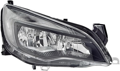 Opel Astra J 2009- HatchbackHeadlight Black Right Hand