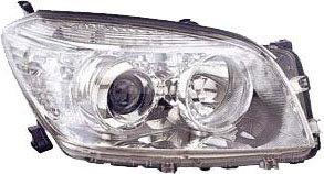 Toyota Rav 4 Iii 2005-2012 MpvHeadlight Chrome Electric Right Hand