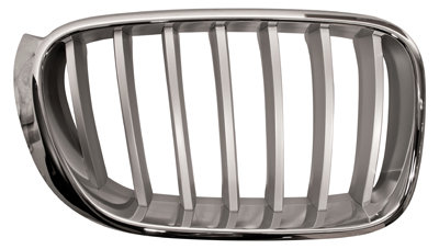 Bmw X3 F25 2010-2017 Mpv Front Grille Chrome/chrome Right Hand
