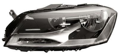 Vw Passat 2010-2014 SaloonHeadlight Electric Inc Motor Left Hand