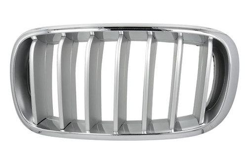 Bmw X5 2012- Mpv Front Grille Left Hand Chrome/titanium