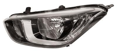Hyundai I20 2008-2014 HatchbackHeadlight  Left Hand