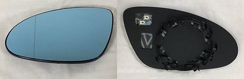 Mercedes-benz S-class 2005-2013 SaloonDoor Mirror Glass Blue Heated Left Hand
