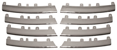 Vw Jetta Iii 2005-2010 Saloon Chrome Grill Moulding Set All 8 Pieces
