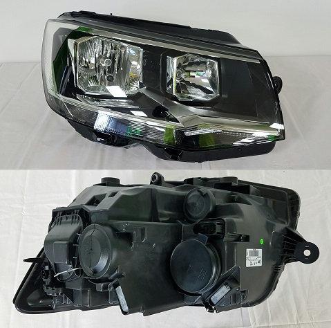 Vw Transporter / Caravelle Mk Vi 2015- Mini Bus Headlight Twin Right Hand