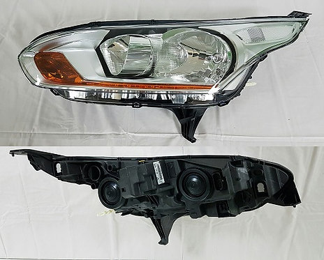 Ford Transit Connect 2013- Kombi Headlight With Drl Left Hand