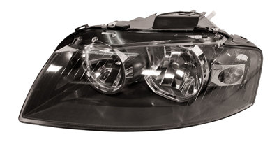 Audi A3 2003-2012 HatchbackHeadlight Left Hand