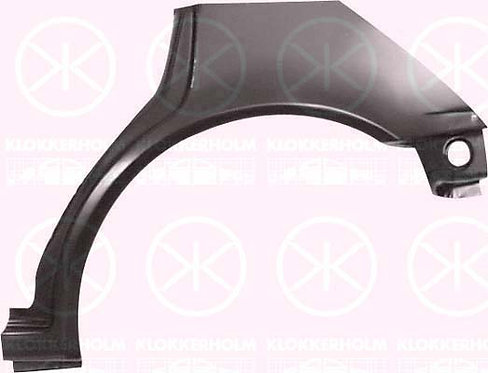 Volvo 440 K 1988-1996 Hatchback Rear Wheel Arch 4/5-drleft Hand