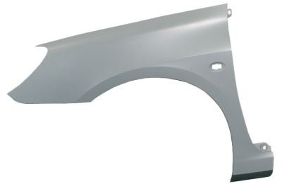Peugeot 307 2000- Hatchback Front Wing With Hole Left Hand