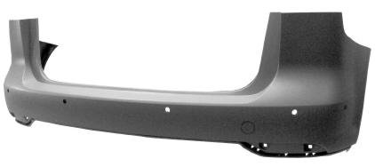 Vw Touran 2010-2015 MpvRear Bumper Primed With Pdc With Park Assist