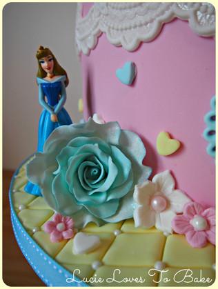 3rd Birthday Princess Cake