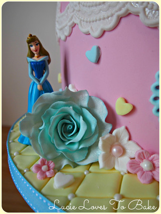 3rd Birthday Princess Cake
